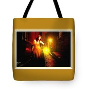 Night Search No. 20 L B With Decorative Ornate Printed Frame. Tote Bag