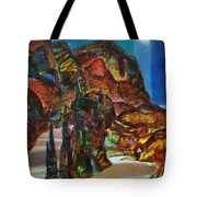 Night Serpentine Tote Bag