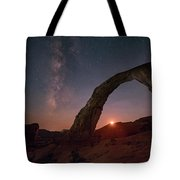 Night Sky At Corona Ach Tote Bag