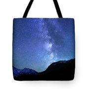 Night Sky In David Thomson Country Tote Bag