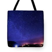 Night Sky Over County Mayo Tote Bag