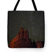 Night Sky Red Rock 2733 Tote Bag