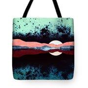 Night Sky Reflection Tote Bag