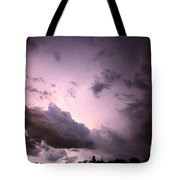Night Storm Tote Bag by Amanda Barcon