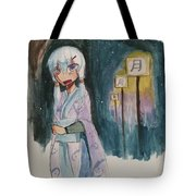 Night Stutter Tote Bag