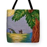 Night-swimming Mercat Tote Bag