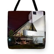 Night Time At The Rock Hall Tote Bag