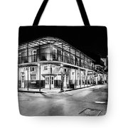 Night Time In The City Of New Orleans I Tote Bag