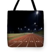 Night Time Run Tote Bag