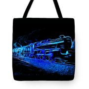 Night Train To Romance Tote Bag by Aaron Berg