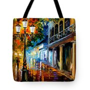 Night Transformation Tote Bag