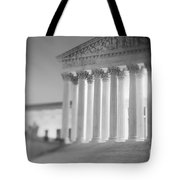 Night Us Supreme Court Washington Dc Tote Bag