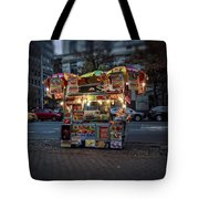 Night Vendor Tote Bag