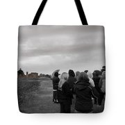 Night Vision Ghost Story In Bradgate Park. Tote Bag