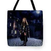 Night Warrior Tote Bag