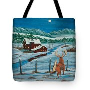 Night Watch Tote Bag by Charlotte Blanchard