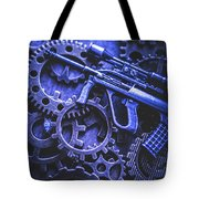 Night Watch Gears Tote Bag
