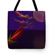 Night Wings Tote Bag