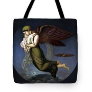 Night With Her Children Tote Bag