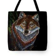 Night Wolf Tote Bag