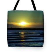 Nightfall At The Shore Tote Bag