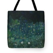 Nightfall In The Forest Tote Bag