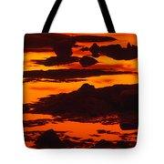 Nightfall Silhouettes Tote Bag