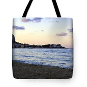 Nightfalls Over The Mediterranean Tote Bag
