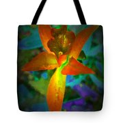 Nightgown Floral Tote Bag