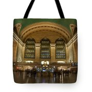 Nighthawks At The Station Tote Bag