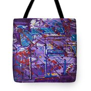 Nightlife Lights Tote Bag