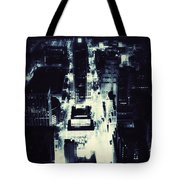 Blue Pill Tote Bag by Helge