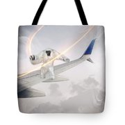 Nightmare At 20 Thousand Feet Tote Bag by Ericamaxine Price
