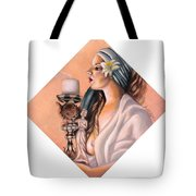 Nights Candle Tote Bag
