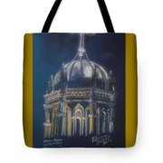 Nights Of Lights Presbyterian Memorial Church St Augustine Florida  Tote Bag