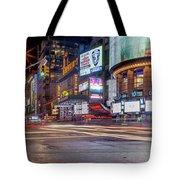 Nights On Broadway Tote Bag