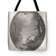 Nightscapes, Dirk Jurriaan Sluyter, After Johannes Hilverdink In Or Before 1870 Tote Bag