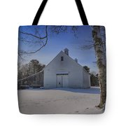 Nighttime At The Mallett Barn Tote Bag