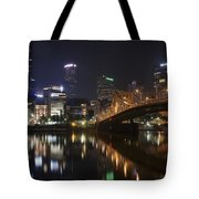 Nighttime In The City Tote Bag