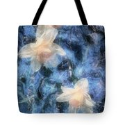 Nighttime Narcissus Tote Bag