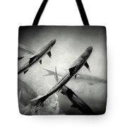 Nighttime Tarpon Tote Bag