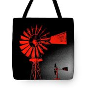 Nightwatch Tote Bag by Wendy J St Christopher