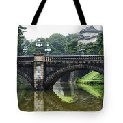 Nijubashi Bridge At Imperial Palace Tote Bag