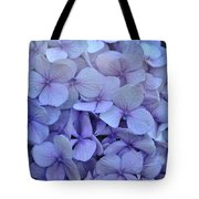 Nikko Blue Petals Tote Bag