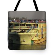 Nile Cruise Ship Tote Bag