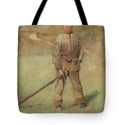 Nils Kreuger, 1858-1930, Young Boy, Scene From Holland. Executed In July-august 1883 Tote Bag
