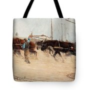 Nils Kreuger,   From The Dutch Coast. Tote Bag