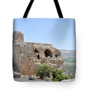 Nimrod Fortress National Park  Tote Bag