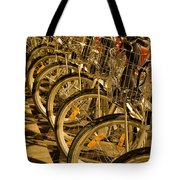 Bikes For Hire In Lyon Tote Bag