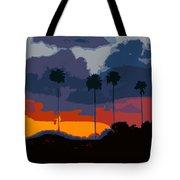 Nine Palms Tote Bag